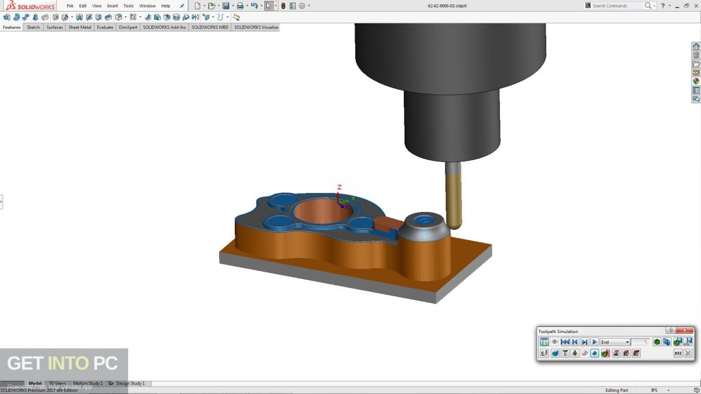 CAMWorks 2019 for SolidWorks Latest Version Download-GetintoPC.com