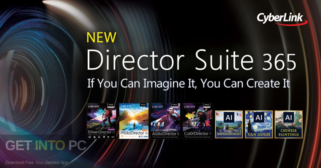CyberLink Director Suite 365 Free Download-GetintoPC.com