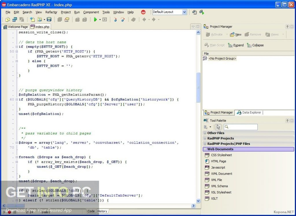 Embarcadero RadPHP XE v3 Latest Version Download-GetintoPC.com