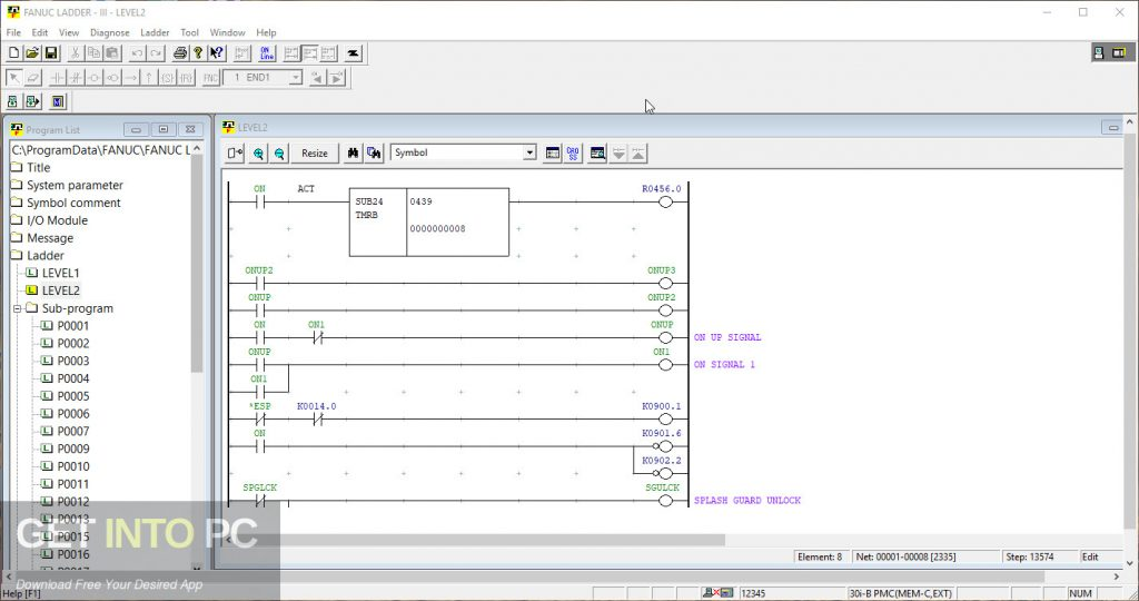 FANUC LADDER-III 6.9 Latest Version Download-GetintoPC.com