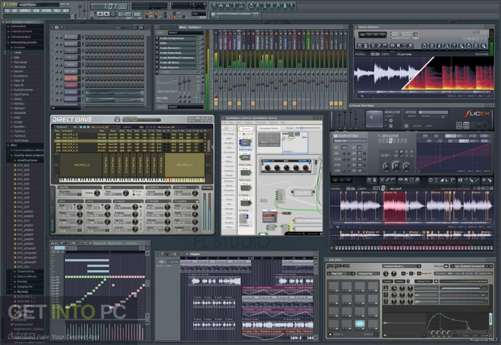 FL Studio XXL Producer Edition v8.0.2 + Autotune v5 Offline Installer DOwnload-GetintoPC.com