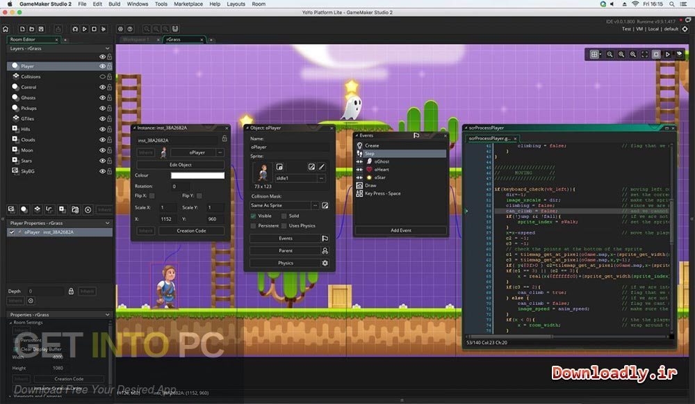 GameMaker Studio Ultimate 2.2.0.343 Latest Version Download-GetintoPC.com
