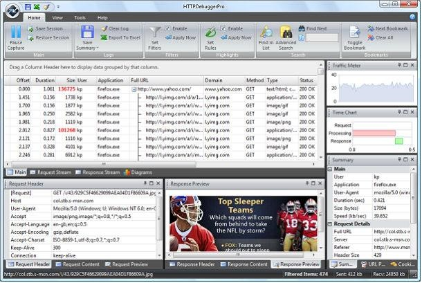 HTTP Debugger Pro 8.20 Free Download