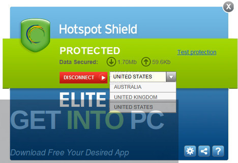 Hotspot Shield VPN Elite v7.20 Latest Version Download-GetintoPC.com