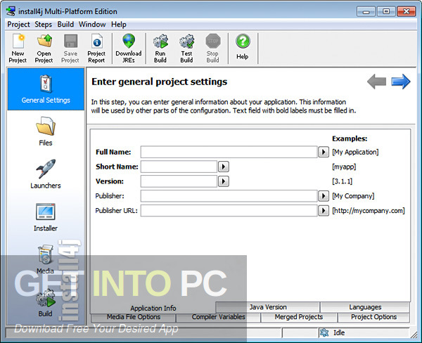 Install4j MultiPlatform Edition 7 Free Download