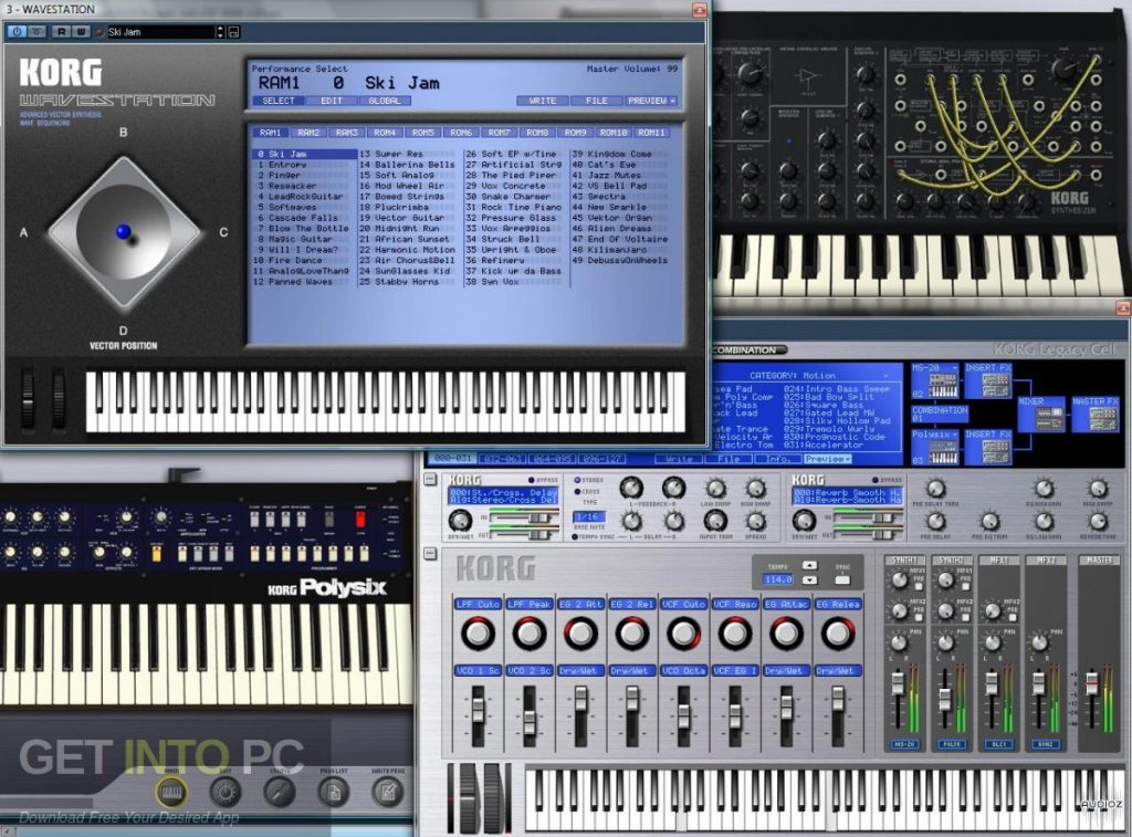 KORG Legacy Collection Special Bundle Latest Version Download-GetintoPC.com