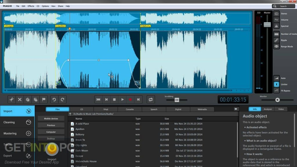 MAGIX Audio Music Lab 2014 Premium Offline Installer Download-GetintoPC.com