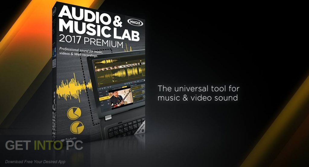 MAGIX Audio Music Lab 2017 Premium Free Download-GetintoPC.com