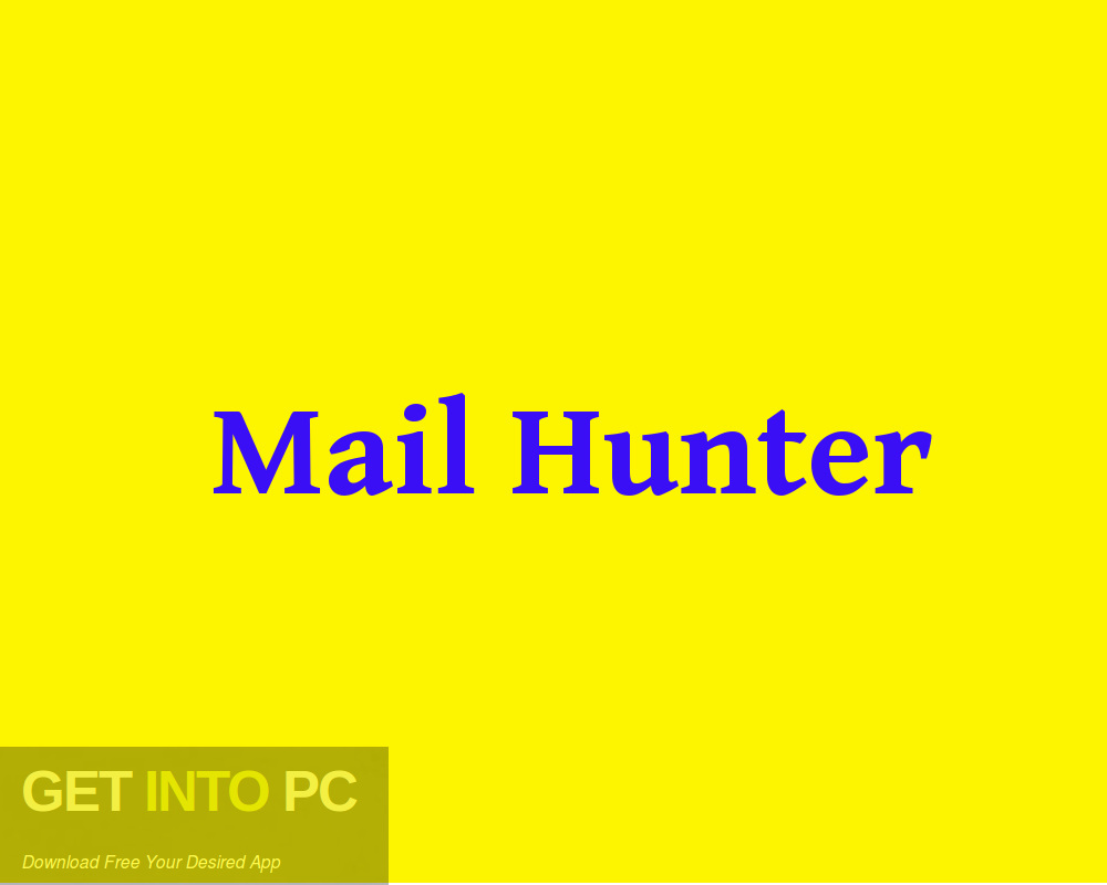 Mail Hunter Free Download-GetintoPC.com