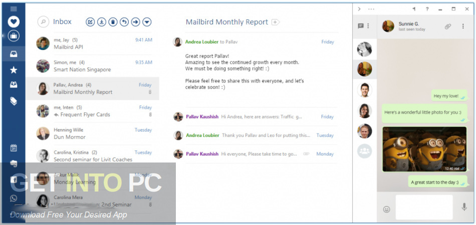 Mailbird Pro 2.5.14.0 Direct Link Download-GetintoPC.com
