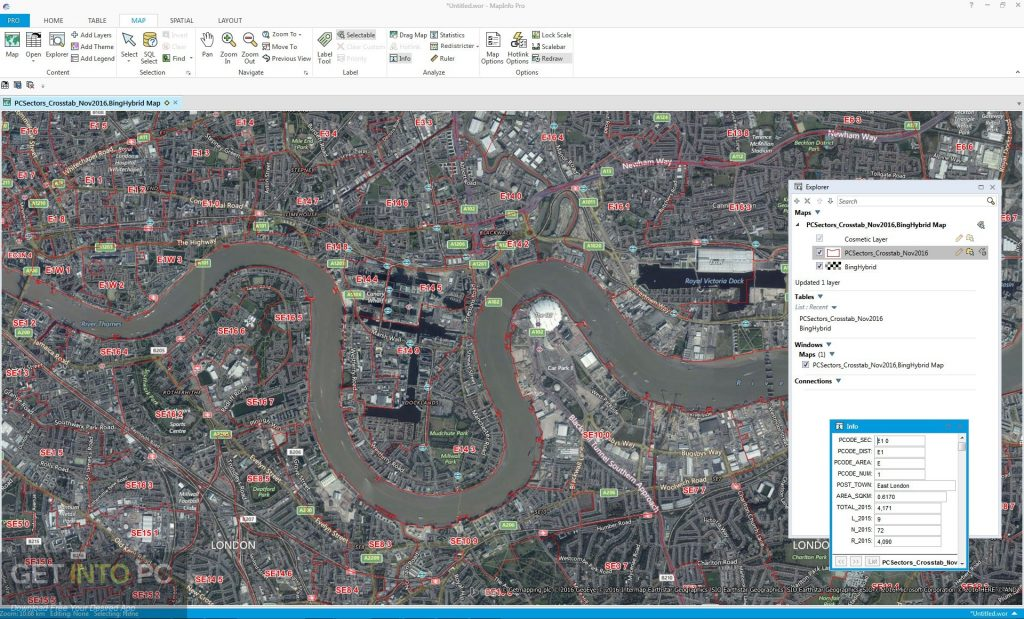 MapInfo Pro 16 Direct Link Download-GetintoPC.com