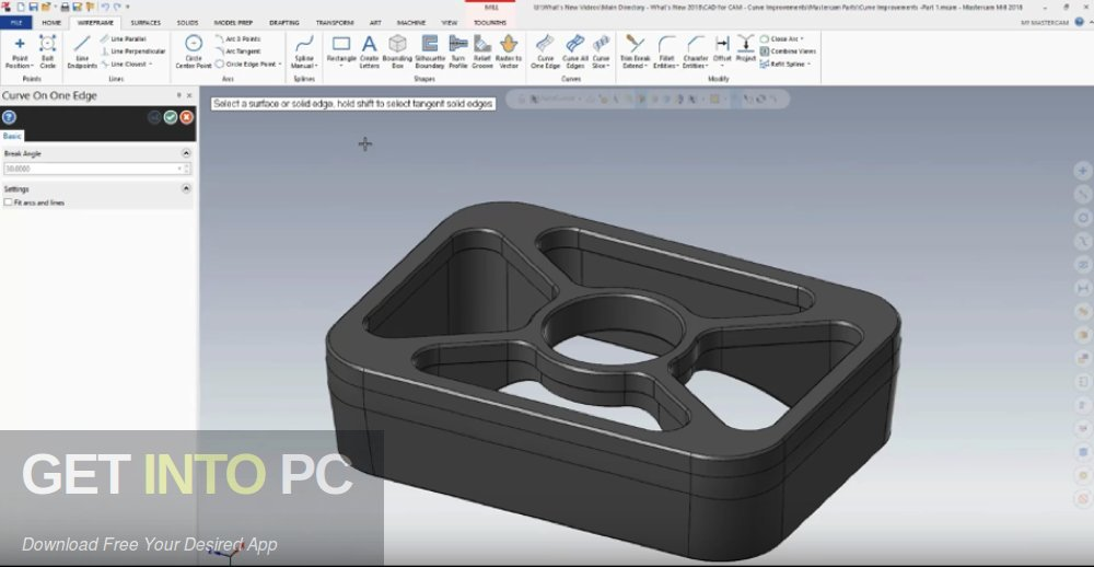Mastercam 2018 for SolidWorks 2010-2018 Direct Link Download-GetintoPC.com