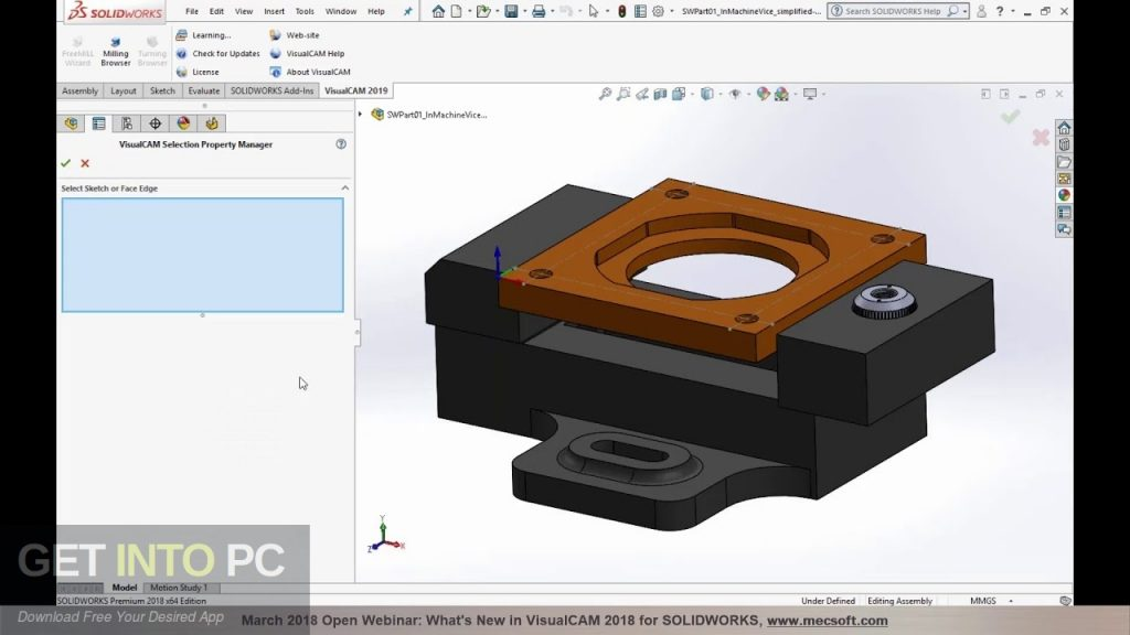 Mastercam 2018 for SolidWorks 2010-2018 Latest Version Download-GetintoPC.com