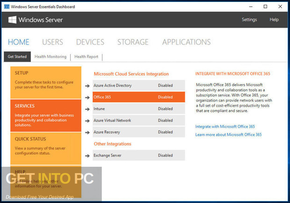 Microsoft Windows Server Essential 2016 Latest Version Download-GetintoPC.com