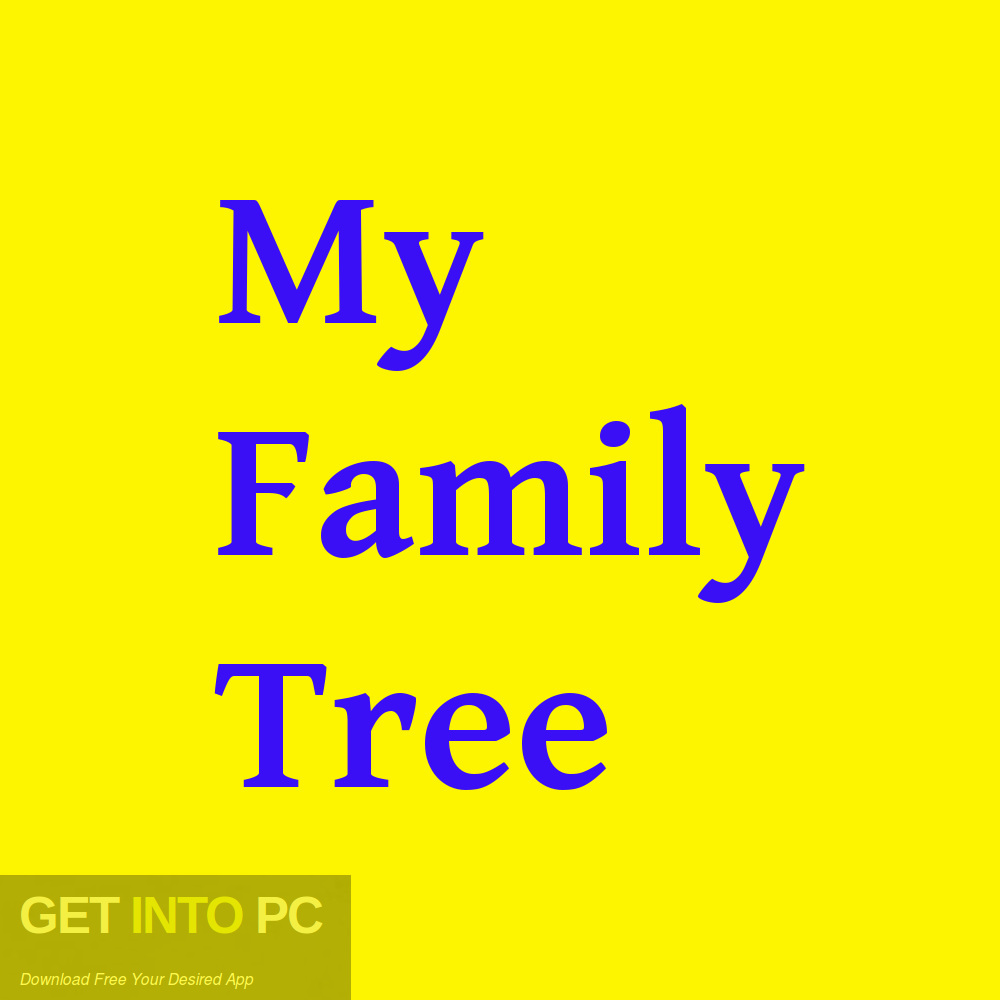 My Family Tree Free Download-GetintoPC.com