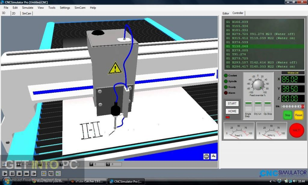 Nanjing Swansoft CNC Simulator Direct Link Download-GetintoPC.com