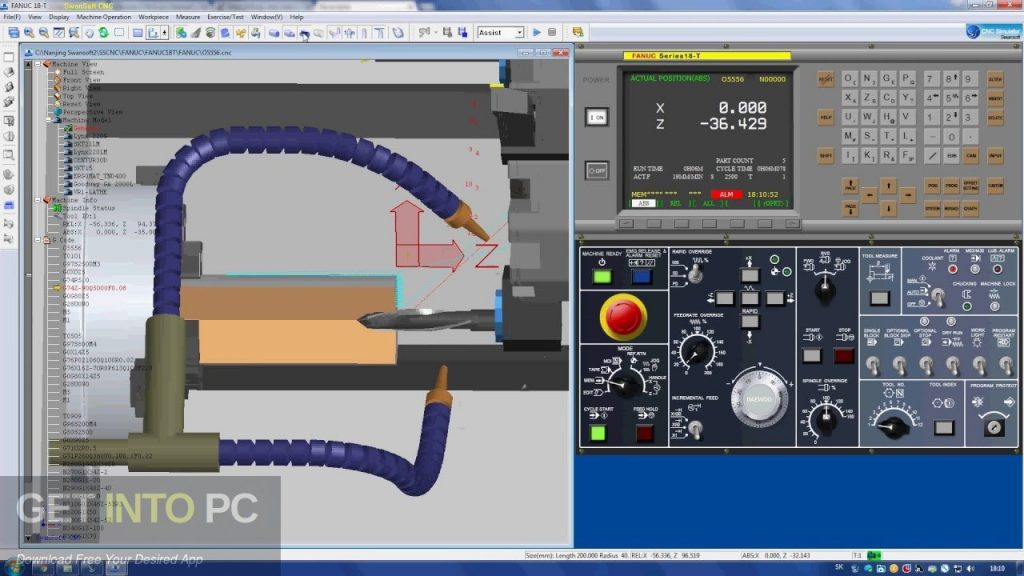 Nanjing Swansoft CNC Simulator Latest Version Download-GetintoPC.com