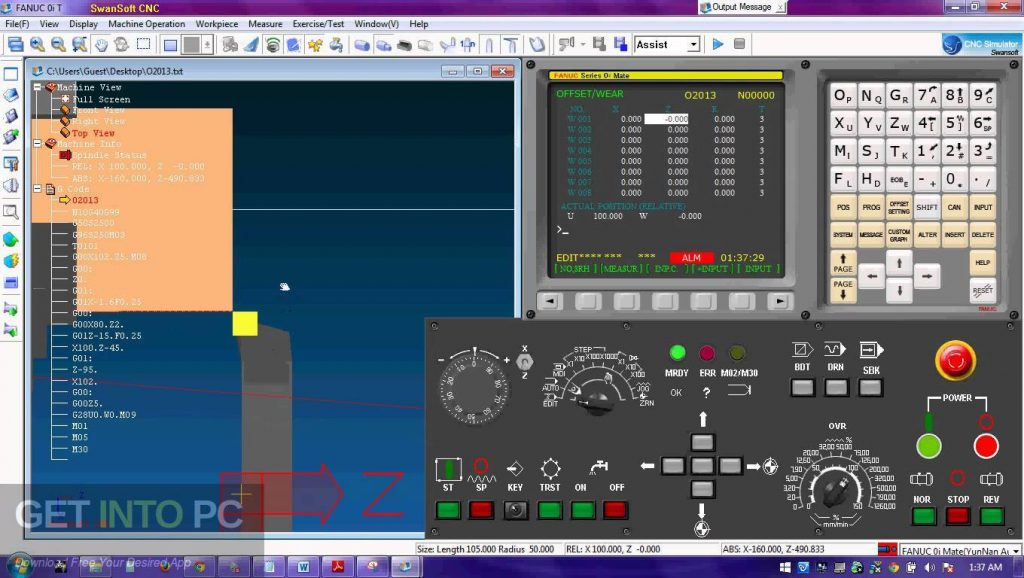 Nanjing Swansoft CNC Simulator Offline Installer Download-GetintoPC.com
