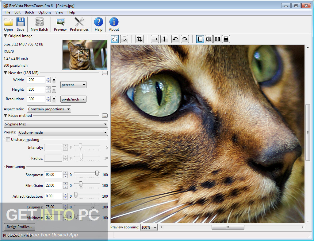 PhotoZoom Pro 7 Free Download