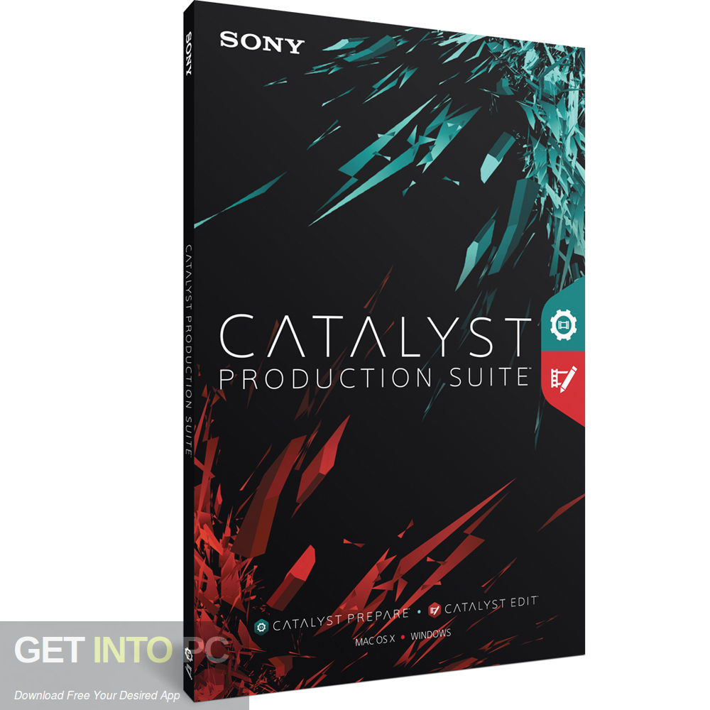 Sony Catalyst Production Suite 2018 Free Download-GetintoPC.com