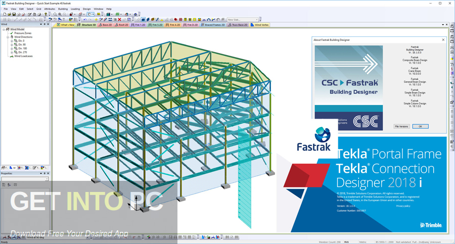 Tekla CSC Fastrak Direct Link Download-GetintoPC.com