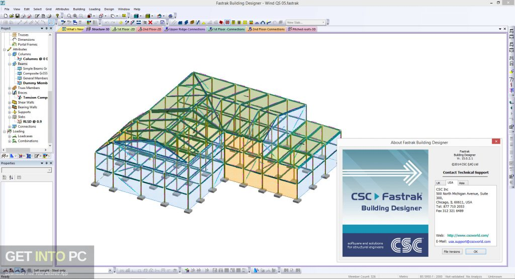 Tekla CSC Fastrak Latest Version Download-GetintoPC.com