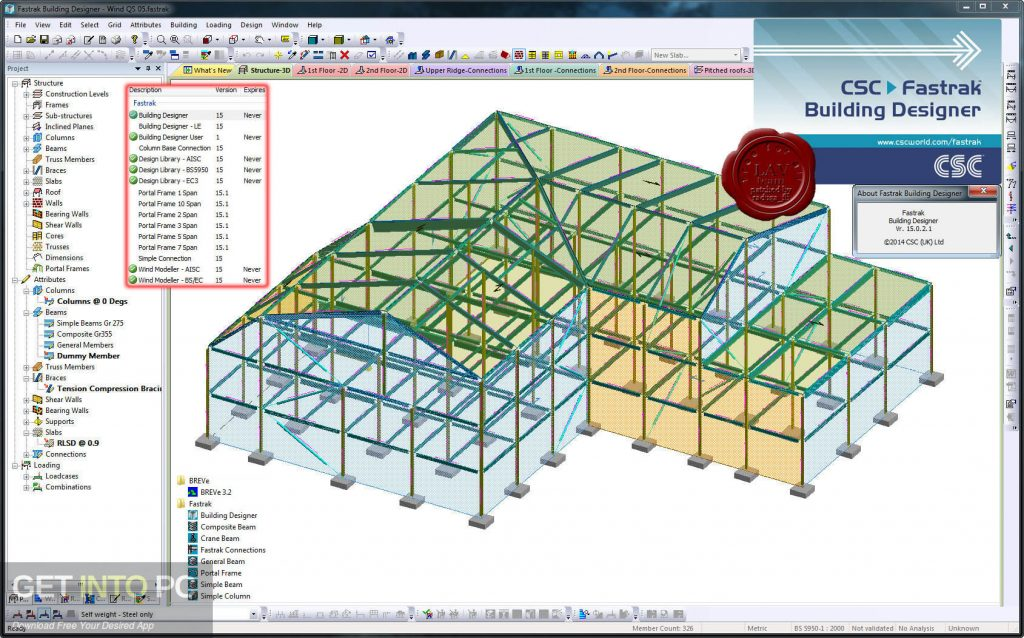 Tekla CSC Fastrak Offline Installer Download-GetintoPC.com