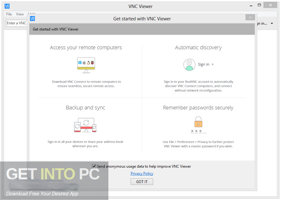 VNC Connect RealVNC Enterprise Latest Version Download-GetintoPC.com