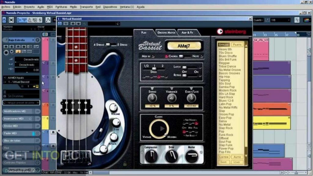 Virtual Bassist Direct Link Download-GetintoPC.com