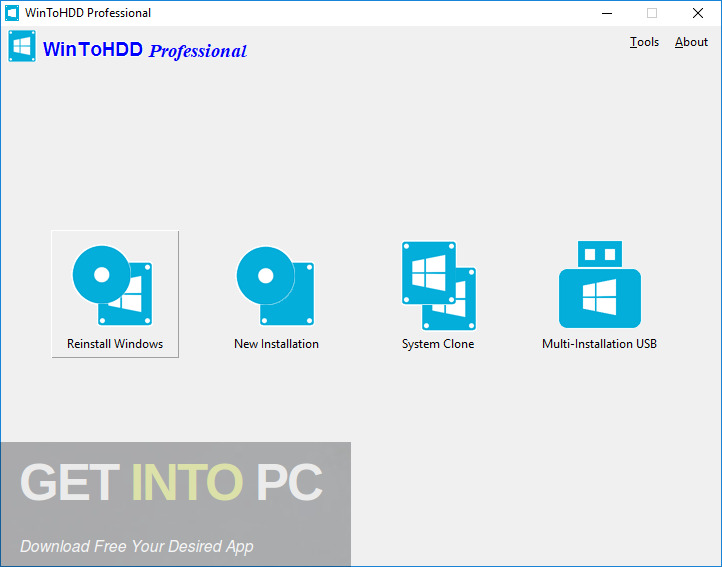 WinToHDD Enterprise 3 Free Download