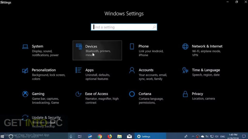 Windows 10 Pro x64 RS5 incl Office 2019 Direct Link Download-GetintoPC.com