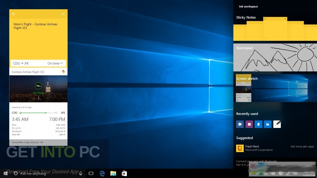 Windows 10 Pro x64 RS5 incl Office 2019 Latest Version Download-GetintoPC.com