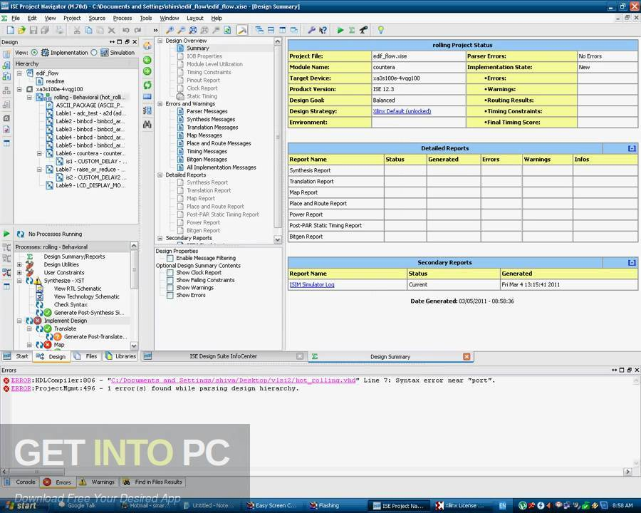 Xilinx ISE Design Suite v14.7 Latest Version Download-GetintoPC.com