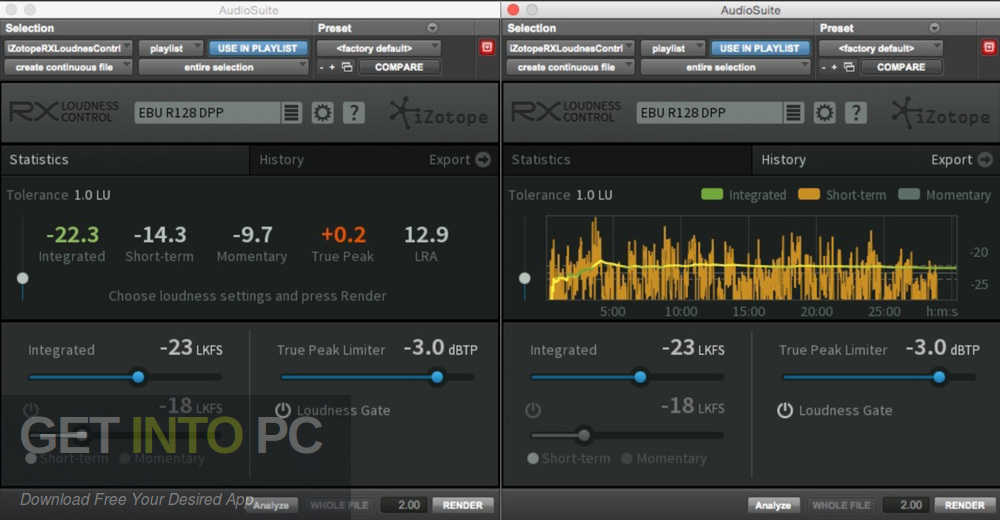 iZotope RX Loudness Control Direct Link Download-GetintoPC.com
