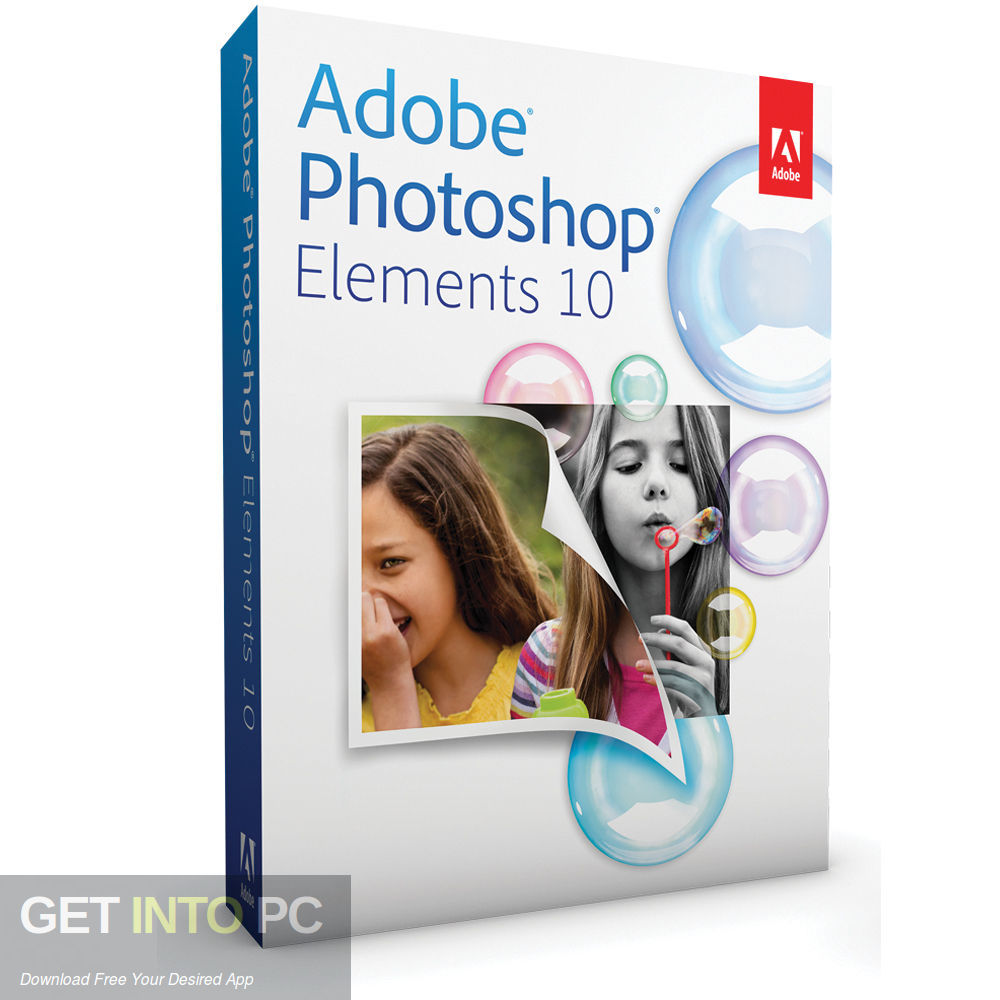 Adobe Photoshop Elements v10 Free Download-GetintoPC.com