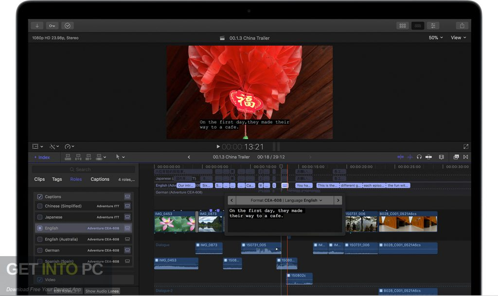 Apple Final Cut Pro X 10.4.3 for Mac Offline Installer Download-GetintoPC.com