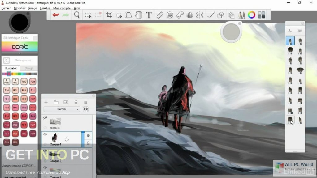 Autodesk SketchBook Pro for Enterprise 2019 Direct Link Download-GetintoPC.com