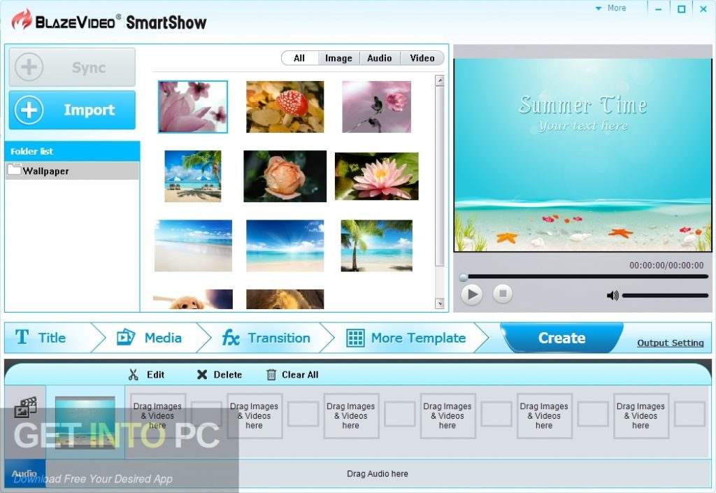 BlazeVideo SmartShow Latest Version Download-GetintoPC.com