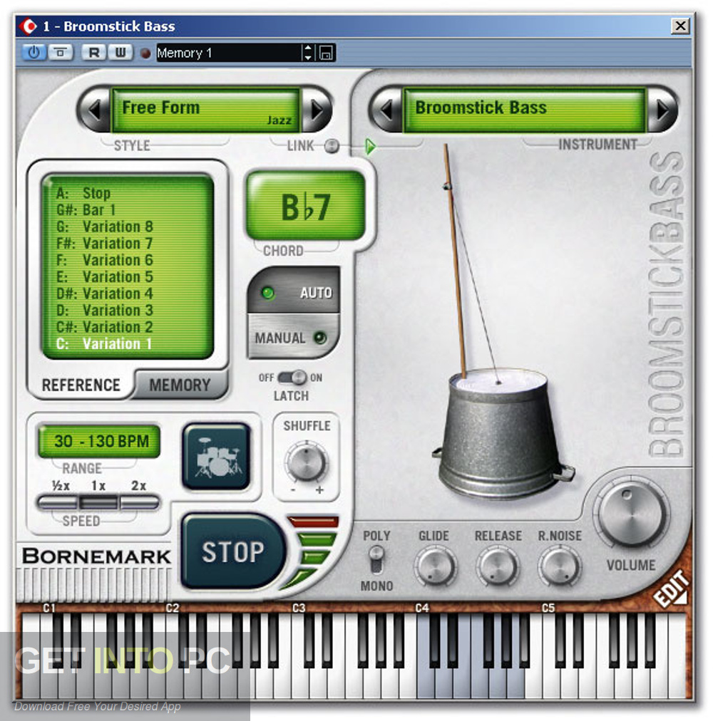 Bornemark Broomstick Bass VSTi Offline Installer Download-GetintoPC.com
