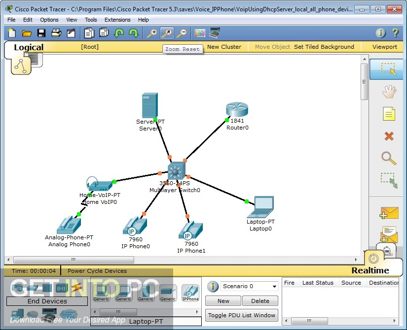 Cisco Packet Tracer 6.3 Latest Version Download-GetintoPC.com