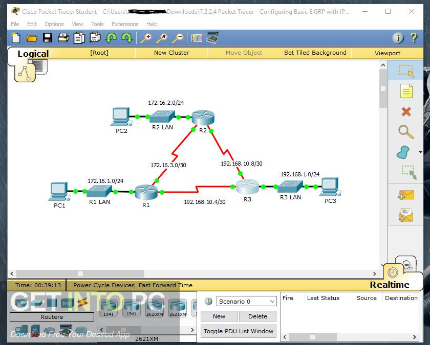 Cisco Packet Tracer 6.3 Offline Installer Download-GetintoPC.com