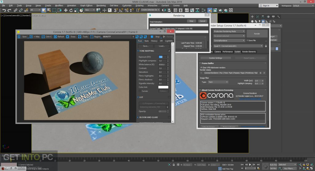 Corona Renderer 1.7.4 for 3ds Max 2012 - 2019 Latest Version Download-GetintoPC.com