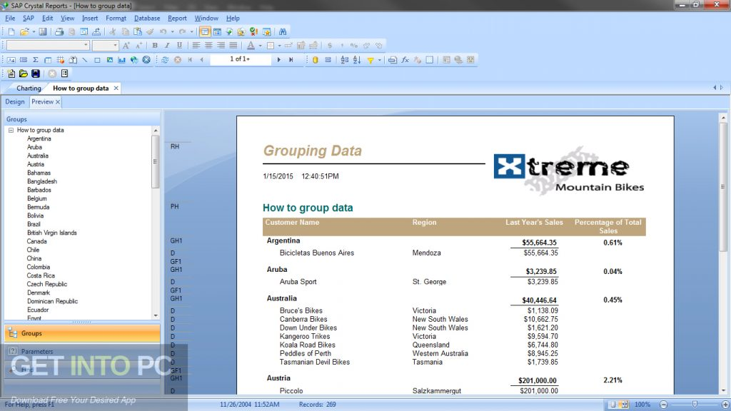 Crystal Reports Developer for Visual Studio Direct Link Download-GetintoPC.com