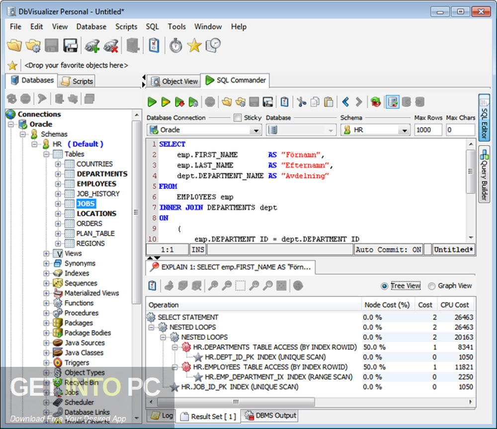 DbVisualizer Pro 10 Latest Version Download-GetintoPC.com
