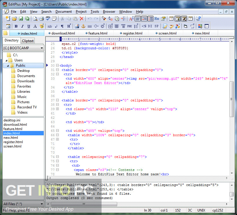 ES-Computing EditPlus Direct Link Download-GetintoPC.com