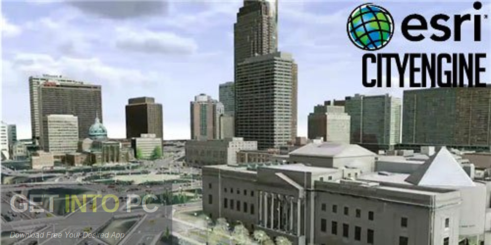 ESRI CityEngine 2016 Free Download-GetintoPC.com