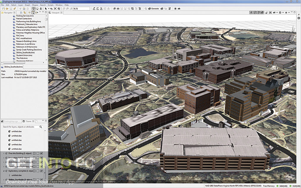 ESRI CityEngine 2016 Latest Version Download-GetintoPC.com