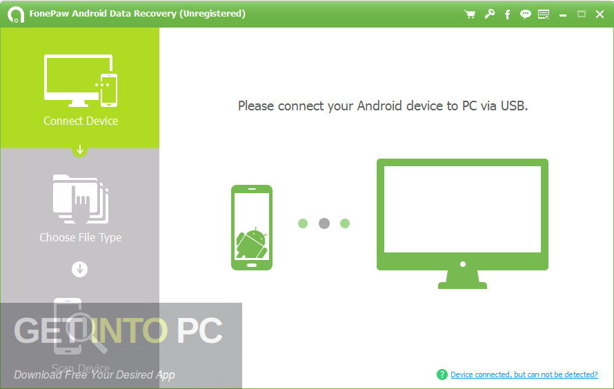 FonePaw Android Data Recovery Latest Version Download-GetintoPC.com