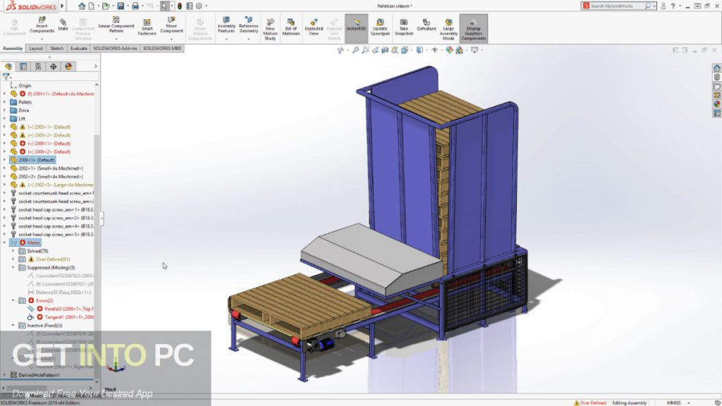Geometric NestingWorks 2019 for SolidWorks Offline Installer Download-GetintoPC.com