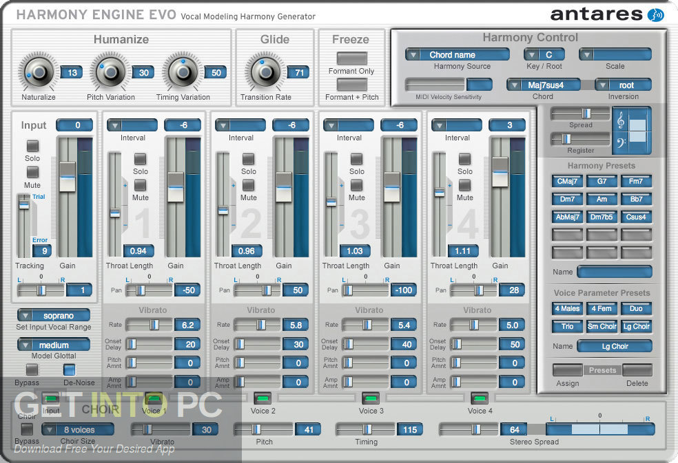 Harmony Engine VST Direct Link Download-GetintoPC.com